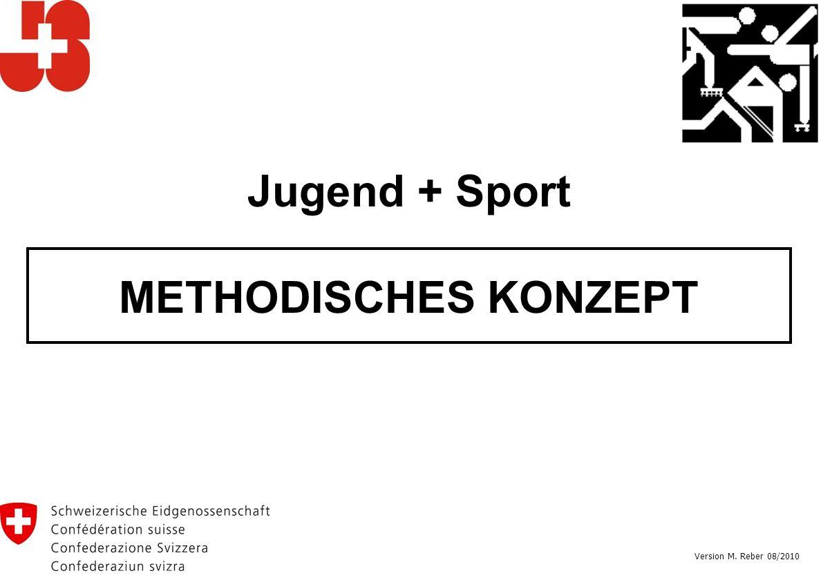 Jugend + Sport METHODISCHES KONZEPT Version M. Reber 08/2010