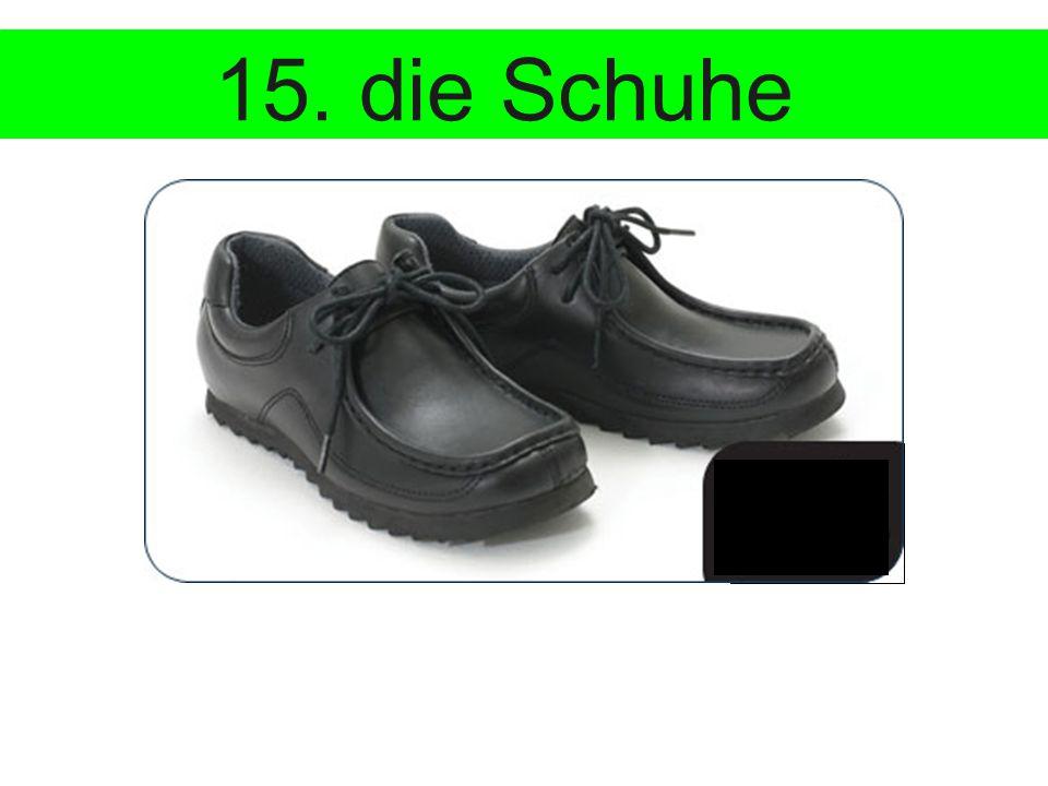 €85 15. die Schuhe