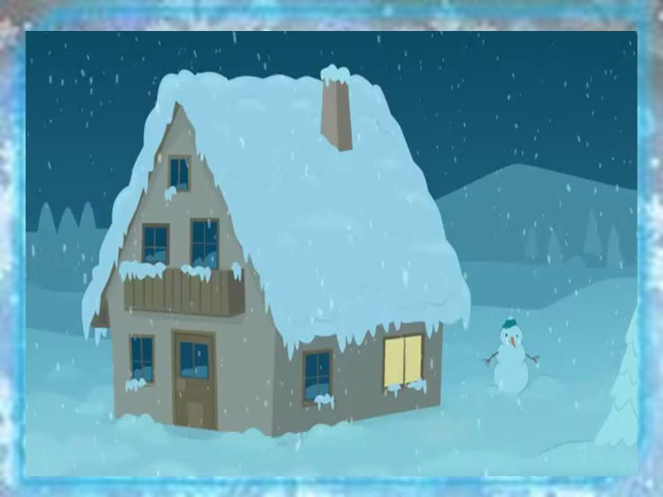 Der Schneemann Der Tannenbaum Die Glocken Der SchlittenDer Schnee Die Schneeflocke Die Kerze Welcher Mann läuft in der Sonne weg.