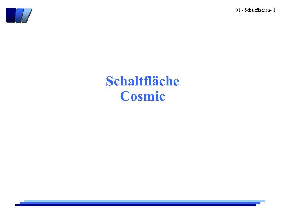 01 - Schaltflächen- 1 Schaltfläche Cosmic