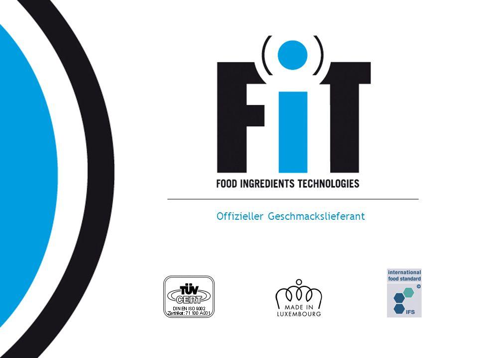 www.fit.lu Offizieller Geschmackslieferant