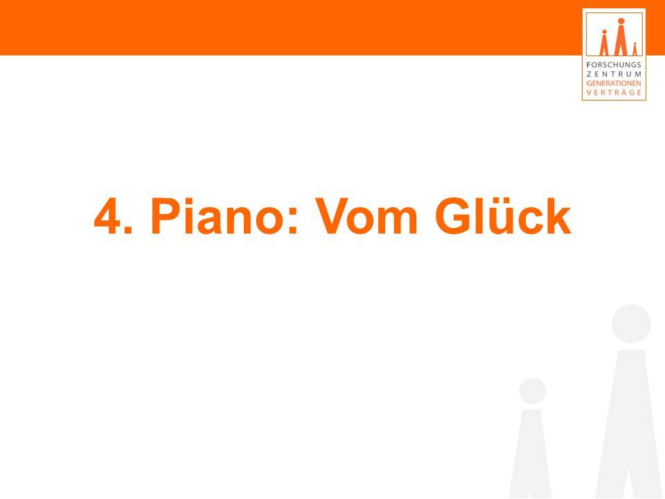 4. Piano: Vom Glück