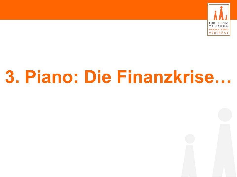 3. Piano: Die Finanzkrise…