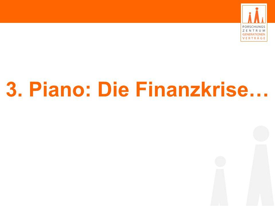 3. Piano: Die Finanzkrise…