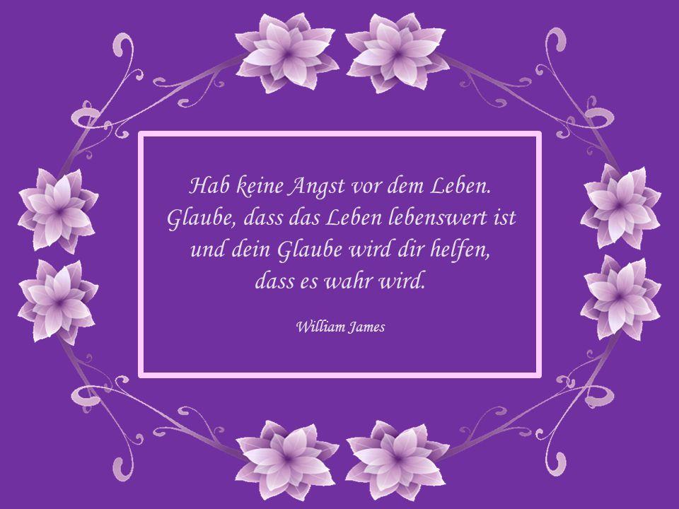 Wir alle haben das Leben zu überstehen. Aber die einzige Möglichkeit, damit fertig zu werden, ist, es zu lieben. Georges Bernanos