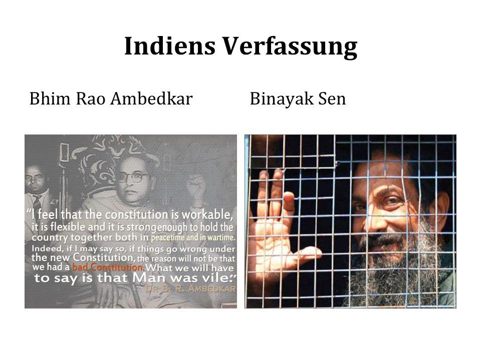 Indiens Verfassung Bhim Rao AmbedkarBinayak Sen