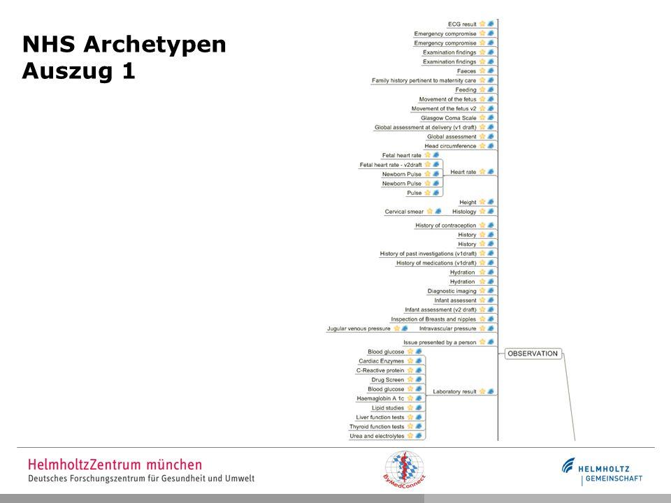 NHS Archetypen Auszug 1