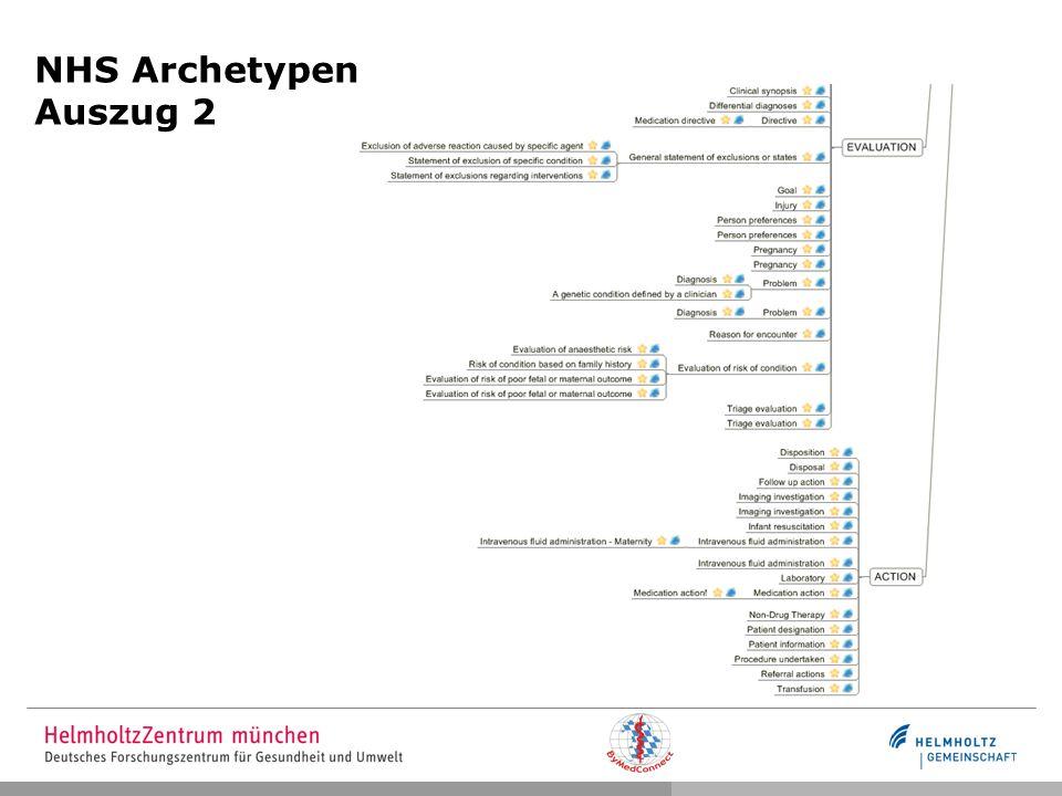 NHS Archetypen Auszug 2