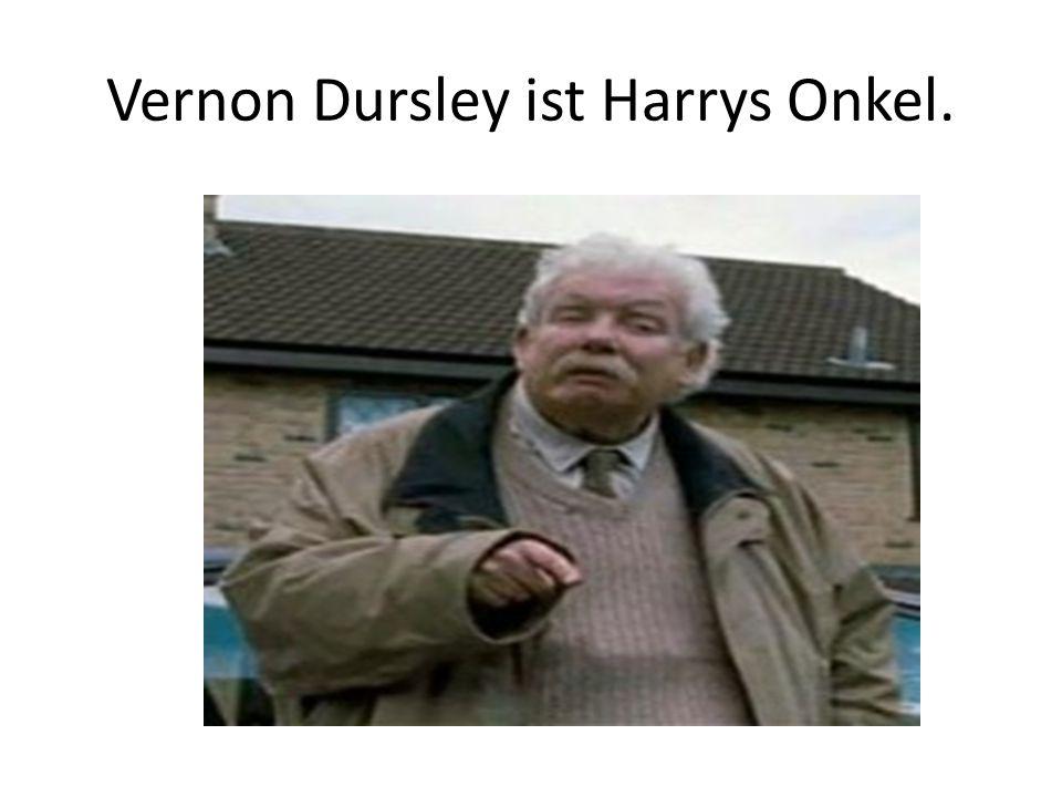 Vernon Dursley ist Harrys Onkel.