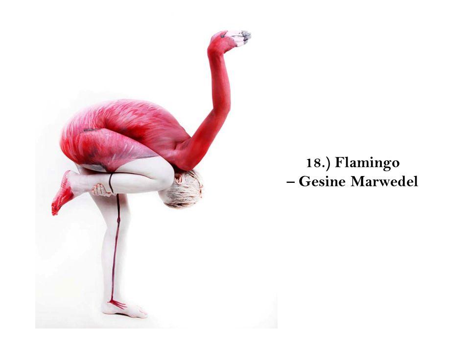 18.) Flamingo – Gesine Marwedel