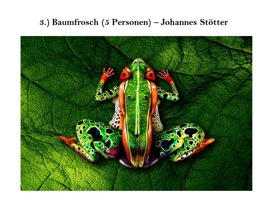3.) Baumfrosch (5 Personen) – Johannes Stötter