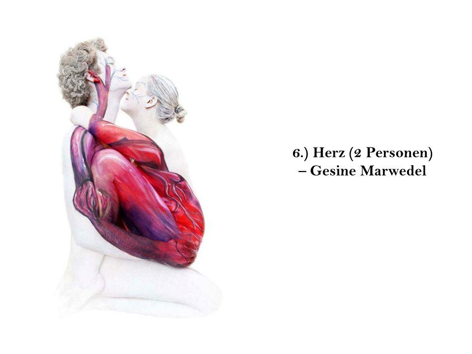 6.) Herz (2 Personen) – Gesine Marwedel