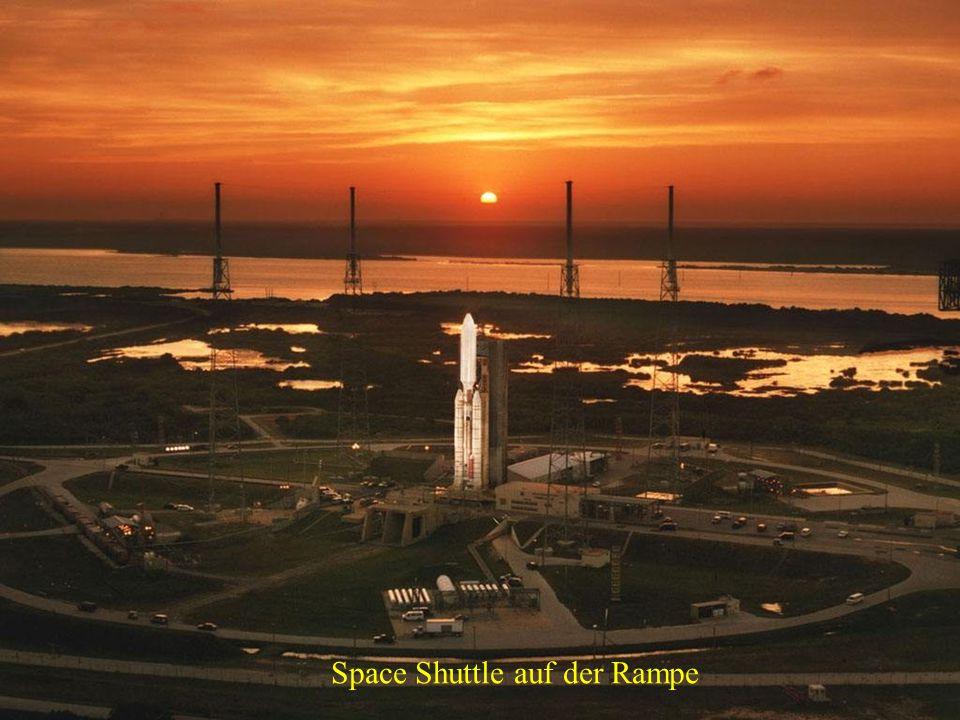USA - Ein Blick auf das Startgelände des Space Shuttles
