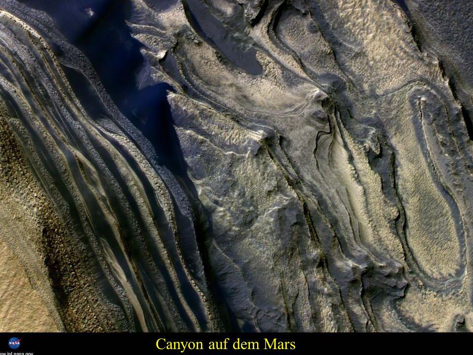 Berg auf dem Mars