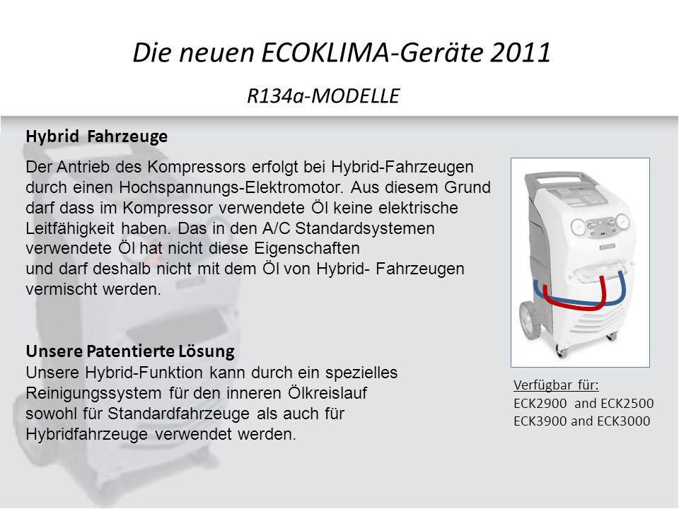 Hybrid Fahrzeuge Der Antrieb des Kompressors erfolgt bei Hybrid-Fahrzeugen durch einen Hochspannungs-Elektromotor.