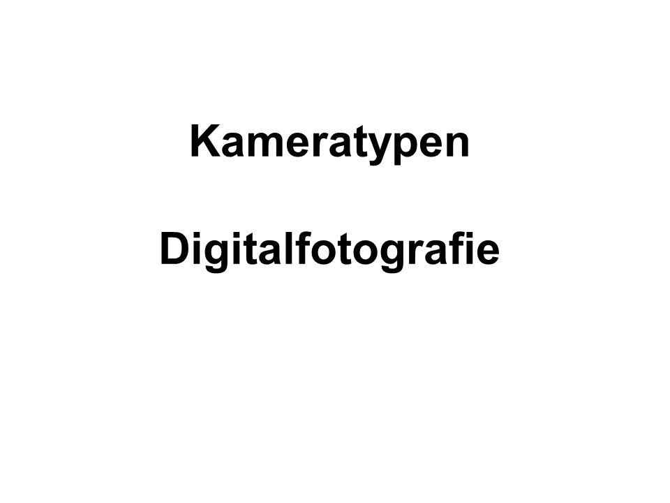 Kompaktkameras + klein, handlich günstig vielseitig Genügend bis gute Bildqualität - schwaches Zoom (3-5x); eingeschränkte Gestaltungsmöglichkeiten