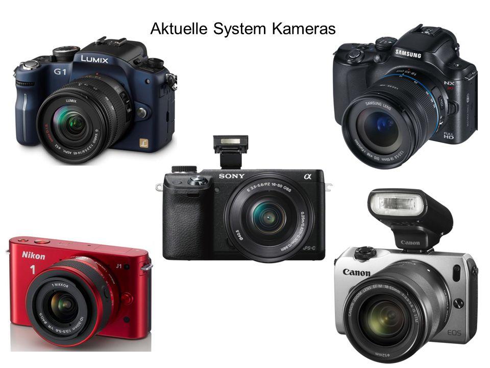 Spiegelreflexkameras + Gute Preis/Leistung Sehr gute Bildqualität Sehr vielseitig, keine Einschränkungen gute Akkudauer Viel Zubehör möglich - nicht kompakt, schwer meist Objektivwechsel nötig teuer mit guten Objektiven