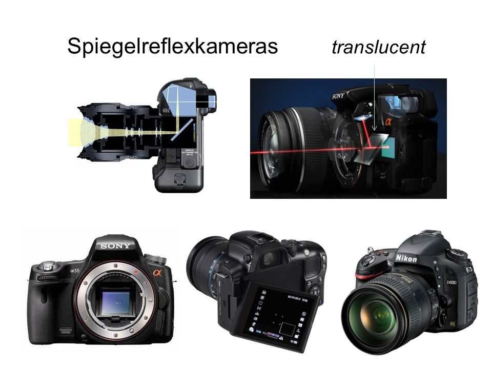 Objektive Zweck: Brennweite/Zoom Normal 28mm-55mm Makro (für Nahaufnahmen) Tele/Zoom 70mm-300mm Festbrennweite 16;55;85 mm Universal 25mm-200mm (= 8-fach Zoom) Weitwinkel 18mm-55mm