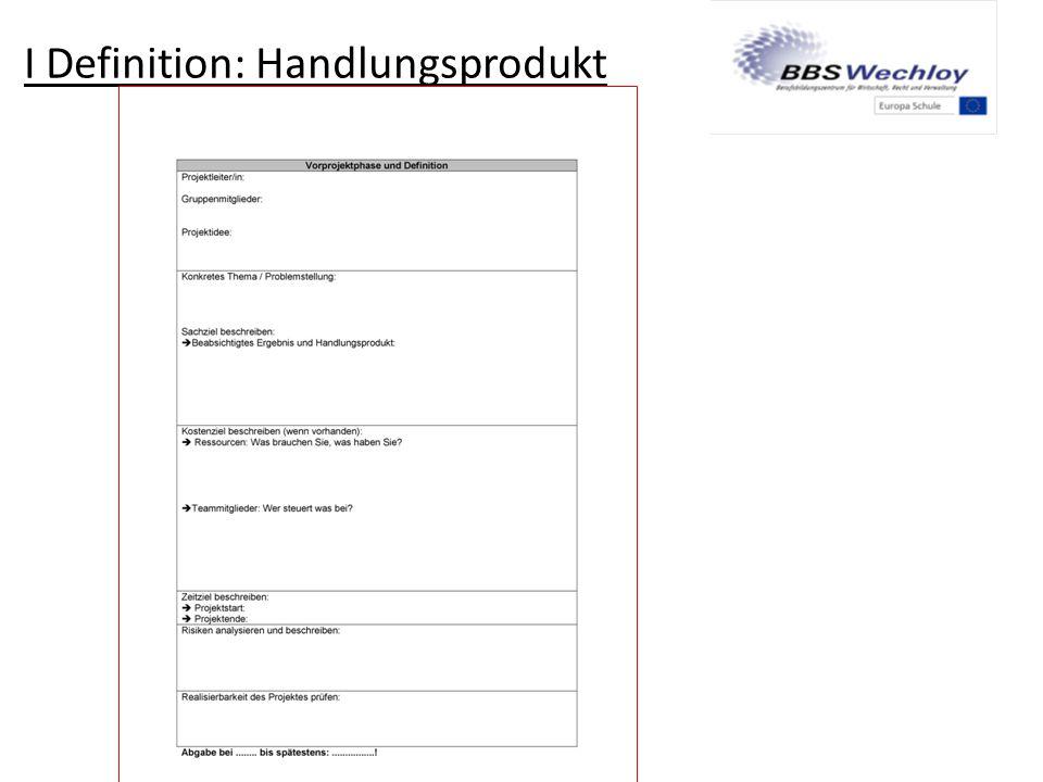 IV Auswertung  Bewertung der Arbeitsergebnisse:  Projektbericht  Präsentation  Arbeitsweise während des Projektes (Meilensteine, Sitzungsprotokolle)  Reflexion über das Projekt