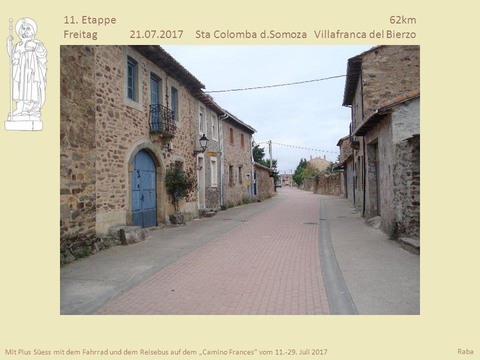 "Mit Pius Süess mit dem Fahrrad und dem Reisebus auf dem ""Camino Frances vom 11.-29."
