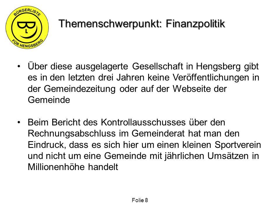 Analysebericht zur Gemeindestrukturreform der Gemeinden Hengsberg – Lang – Lebring St.