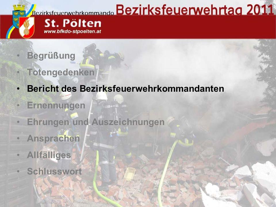 Schwerpunkt Übungsbetrieb Bereitschaftsübung 3,5km Schlauchleitung verlegt