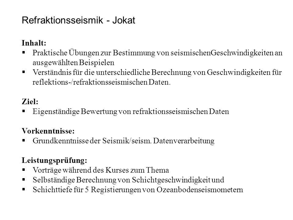 Veranstalter: Hendrik Müller Termine:16.12.2014 / 6.1.
