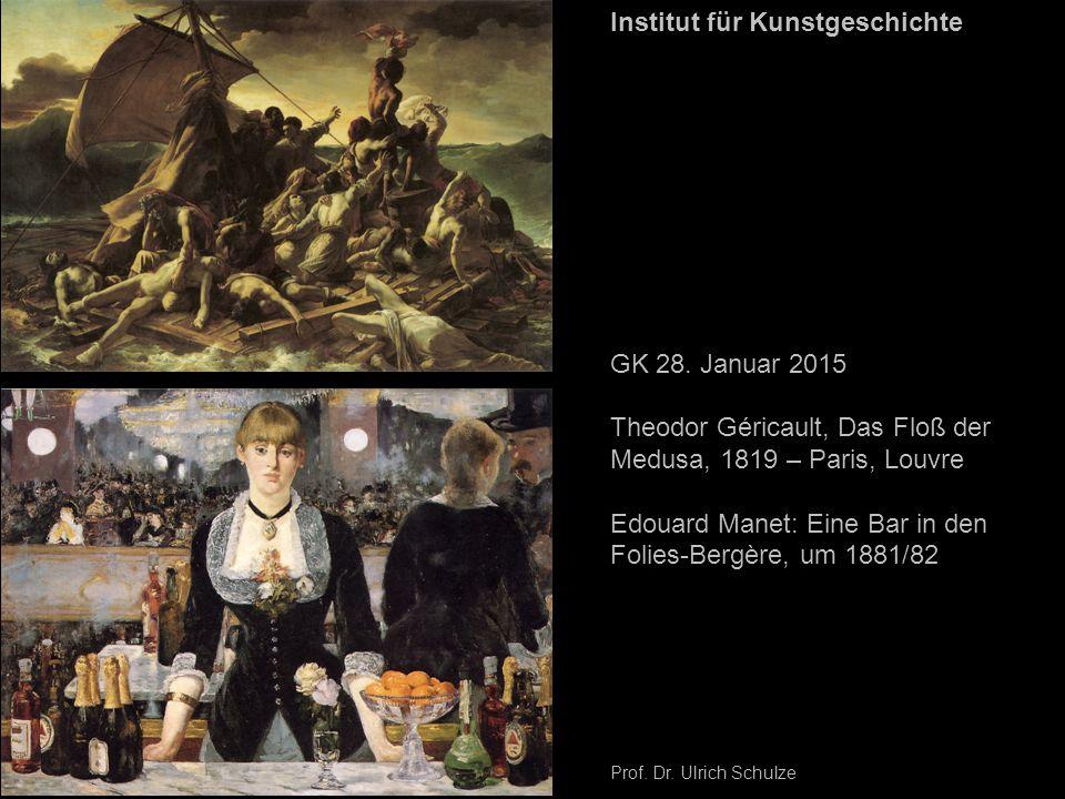 Edouard Manet: Eine Bar in den Folies-Bergère, um 1881/82 - Skizze. Amsterdam, Stedelijk Museum