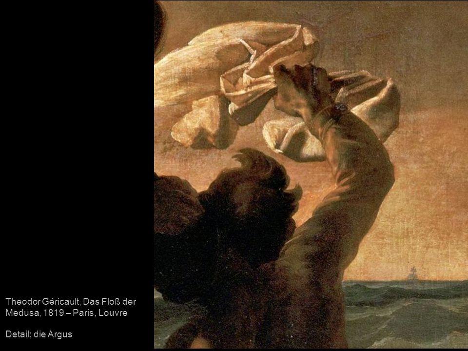 Theodor Géricault, Das Floß der Medusa, 1819 – Paris, Louvre Detail: die Argus