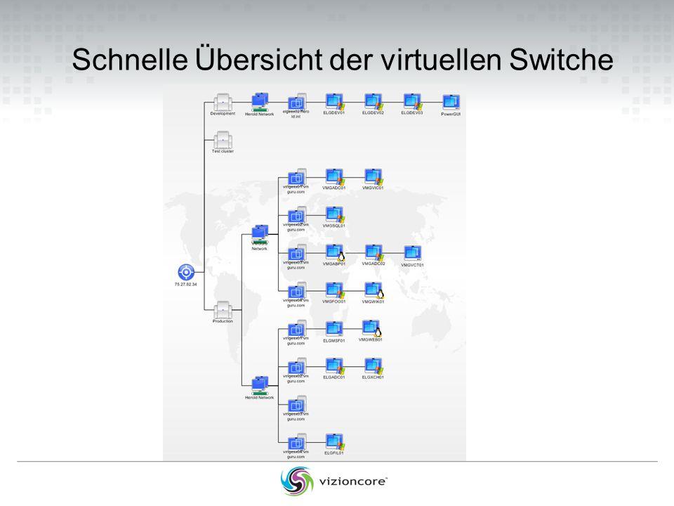 Schnelle Übersicht der virtuellen Switche