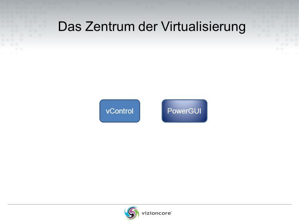 Das Zentrum der Virtualisierung vControlPowerGUI