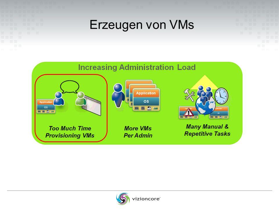 Erzeugen von VMs