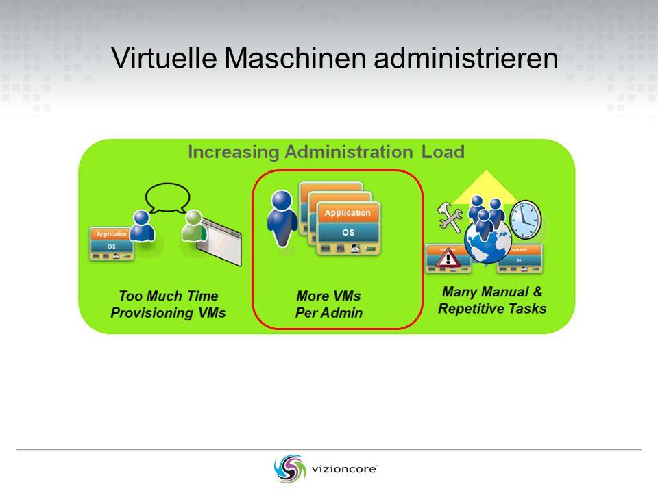 Virtuelle Maschinen administrieren