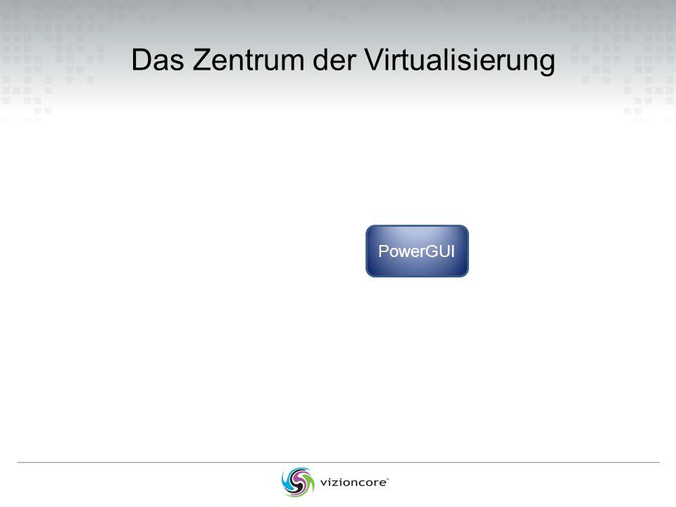 Das Zentrum der Virtualisierung PowerGUI