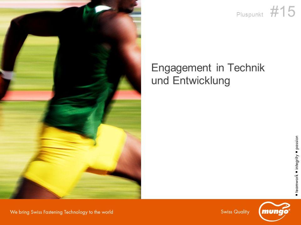 Engagement in Technik und Entwicklung Pluspunkt #15