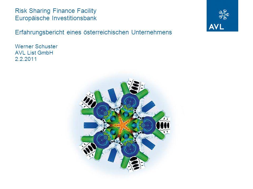 2 Risk Sharing Finance Facility EIB  Kreditvertrag vom 10.Juli 2007  30 Mio.