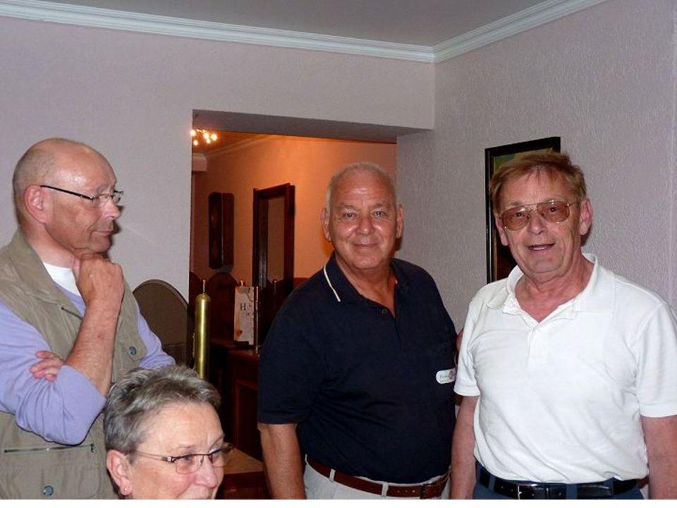 Abschied von Gerd als Regionalbotschafter