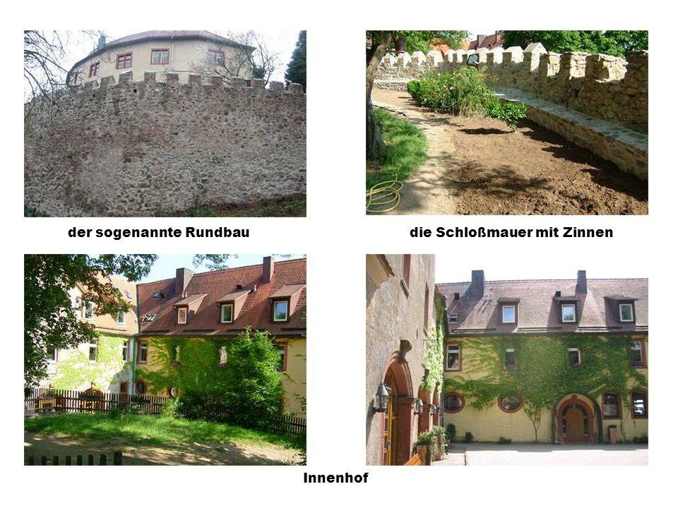 Schlosskapelle, vor und nach der Renovierung