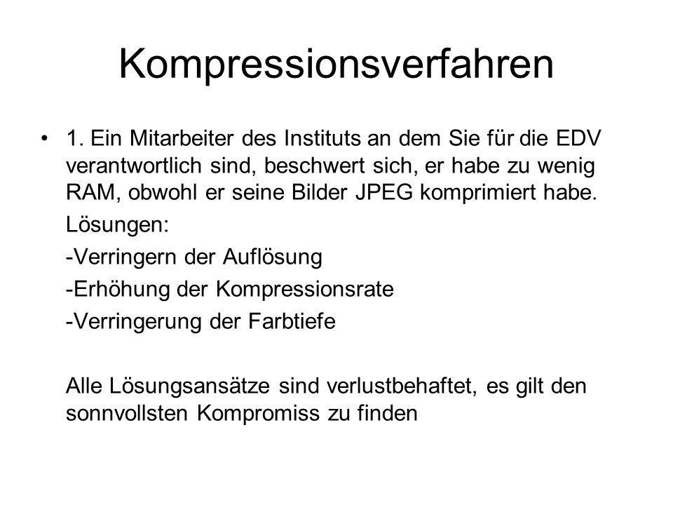 Kompressionsverfahren 1.