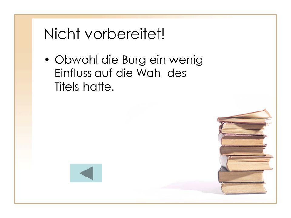 Sehr schön! Sie schrieb in der Schweiz Schauergeschichten als Zeitvertreib.