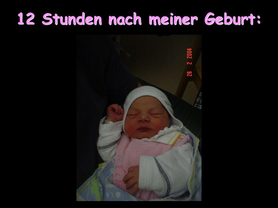 Jetzt zeige ich Euch ein paar Fotos von mir und meiner Familie: Wir haben beschlossen keine Geburtsfotos zu zeigen :)