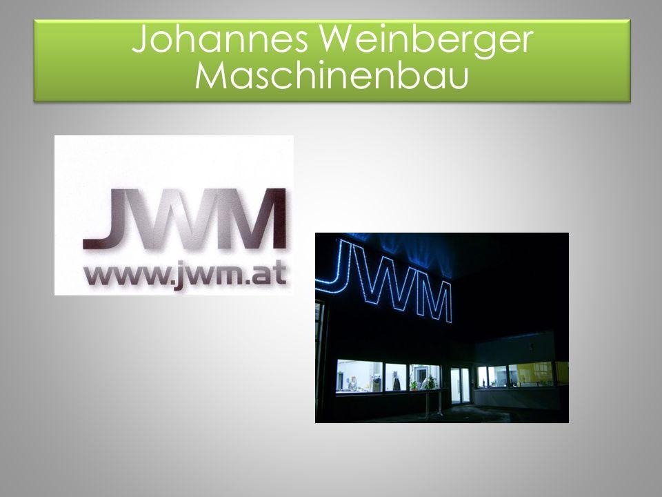 Johannes Weinberger Maschinenbau