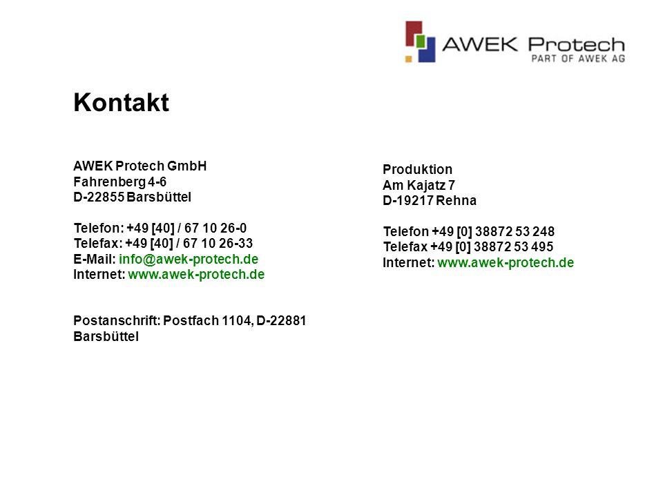 Ein weiterer Teil der AWEK AG Systemtechnik ist in der AWEK-Gruppe für die Metallverarbeitung zuständig.