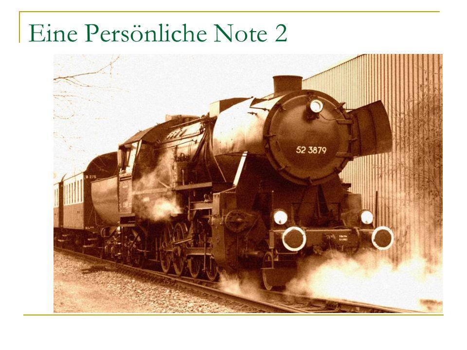 Eine Persönliche Note 2