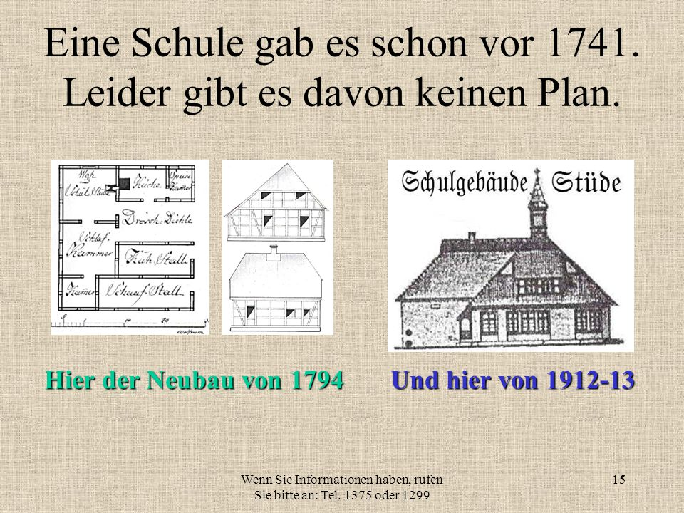 Wenn Sie Informationen haben, rufen Sie bitte an: Tel. 1375 oder 1299 14 Der Kreuzstein An der Grenze zu Knesebeck