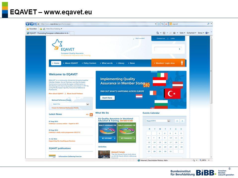 ® 3. Europäische Qualitätssicherung in BB 欧洲职业教育的质量保障 BIBB, HKress, AB 1.2, Photos ©