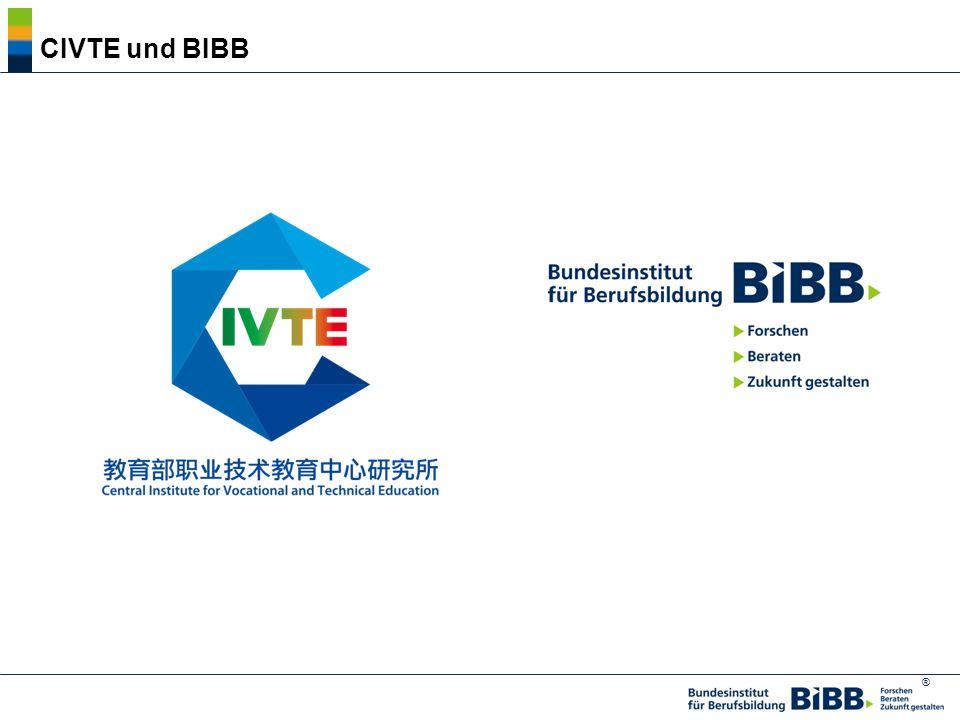 ® 2. CIVTE und BIBB 教育部职业技术教育中心研究所和德国联邦职教研究所