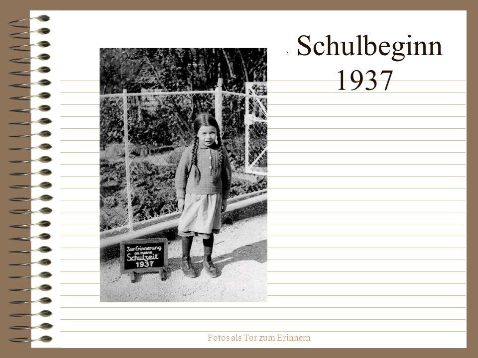 Fotos als Tor zum Erinnern 6 Schulausflug mit Lehrer Eisele auf den Roßberg