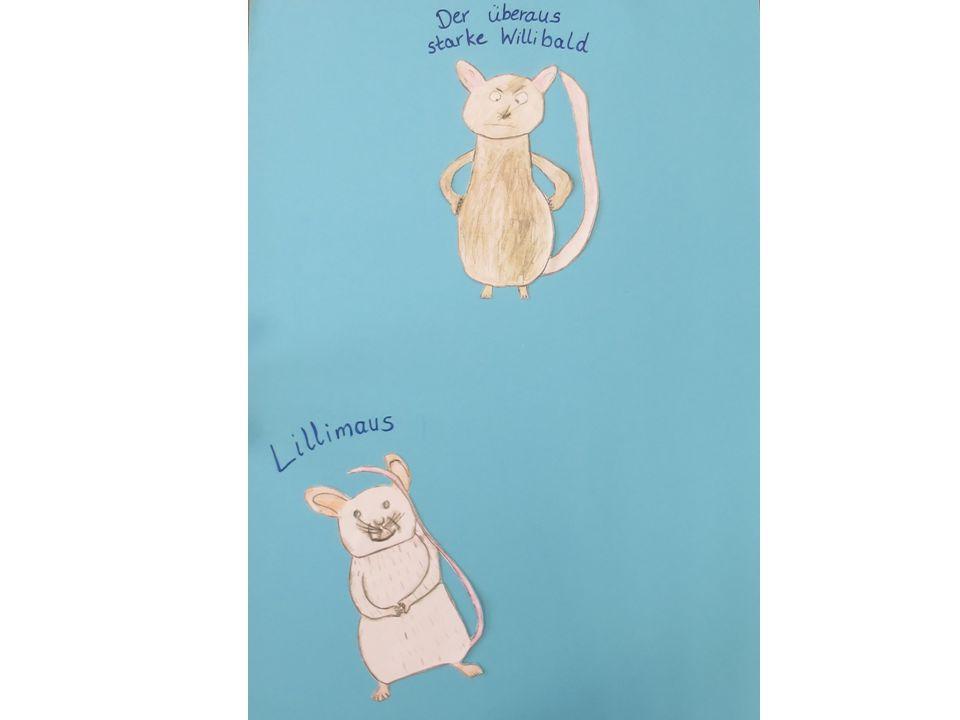 Und mit ihm stürzte der Willibald, die Mäuse waren ihn los.