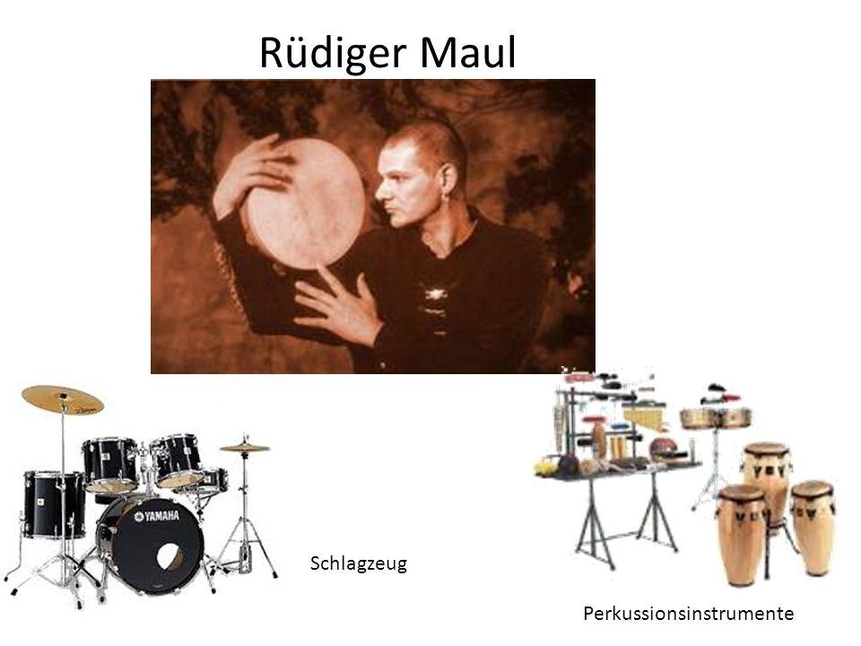 Rüdiger Maul Perkussionsinstrumente Schlagzeug